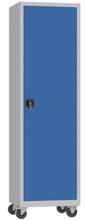 00150596 Szafa na segregatory na kółkach, 1 drzwi (wymiary: 1950 + koła x600x500 mm)