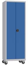00150624 Szafa narzędziowa na kółkach, 2 drzwi (wymiary: 1950 + koła x700x500 mm)