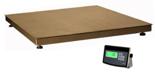 04048954 Waga platformowa ze stali szlachetnej z legalizacją (nośność: 600 kg, podziałka: 200 g, wymiary: 1000x1000 mm)