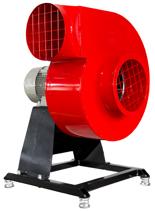 08549414 Wentylator promieniowy stacjonarny z ramą amortyzującą i z ramą amortyzującą WPA-11-E-3-N-S 400V (obroty synchroniczne: 3000 1/min, moc: 5,5 kW, wydajność wentylatora: 8050 m3/h)