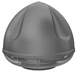 08549445 Wentylator przeciwwybuchowy dachowy SPARK-S-315/3000/Ex (obroty synchroniczne: 3000 1/min, moc: 0,55 kW, wydajność wentylatora: 3170 m3/h)