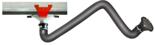 08549577 Odciąg stanowiskowy, zestaw wyciągowy: kanał odciągowy + wózek + ramię ssące ERGO-KOS (średnica ramienia odciągowego: 160 mm, długość ramienia odciągowego: 3 m, długość segmentu kanału: 4 m)