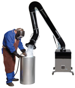 08549597 Urządzenie filtrowentylacyjne, wersja z recyrkulacją powietrza - bez ramion odciągowych RAK-1000-R (moc: 1,1 kW, wydajność: 1800 m3/h)