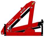 15246906 Żuraw dwuramienny Befard XF 1700.12 (udźwig: 450-2000 kg, zasięg: 2,0-7,7 m, ilość wysuwów hydraulicznych/ręcznych: 1/2)