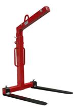 33915349 Zawiesie widłowe do podnoszenia palet KMI 3,0 (udźwig: 3 T, długość wideł: 1000 mm)