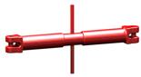 33916829 Napinacz łańcuchowy widełkowy KSS 7 (udźwig: 1,5 T, długość rozciągnięcia: 90 mm)