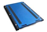 38554963 Waga podkładkowa z bezprzewodowym miernikiem wagowym, bez legalizacji (udźwig: 10000 kg, podziałka: 5 kg, wymiary: 750x450 mm)