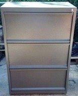 77157267 Szafa narzędziowa, 3 szuflady (wymiary: 1000x800x500 mm)