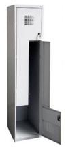 99551986 Szafka ubraniowa 0,5mm, 2 drzwi w kształcie L (wymiary: 1800x400x500 mm)