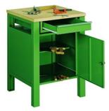 99552443 Stół warsztatowy, 1 drzwi, 1 szuflada (wymiary: 850x600x600 mm)