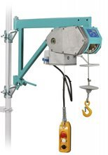 DOSTAWA GRATIS! 05668334 Wciągarka linowa budowlana z uchwytem rusztowaniowym (udźwig: 150 kg, wysokość podnoszenia: 30 m)