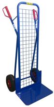DOSTAWA GRATIS! 13367459 Wózek dwukołowy ręczny z siatką do przewozu ciężkich przedmiotów (nośność: 250 kg)