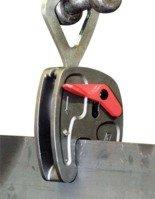 DOSTAWA GRATIS! 44924533 Zacisk półautomatyczny do podnoszenia blach z pierścieniem Tractel® KSA1 0-20 (zacięg chwytu: 0-20mm, udźwig: 1000 kg)
