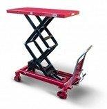 DOSTAWA GRATIS! 62666895 Wózek platformowy nożycowy (udźwig: 800 kg, wymiary platformy: 1220x610 mm)