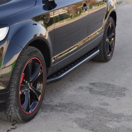 01655886 Stopnie boczne, czarne - BMW X5 F15 2013+ (długość: 193 cm)