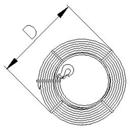 DOSTAWA GRATIS! 2203110 Wciągnik linowy 30.00/1.6t (długość liny: 20m, udźwig: 1,6 T)