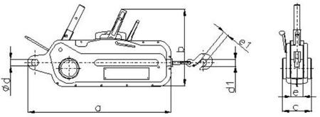 DOSTAWA GRATIS! 2203115 Wciągnik linowy 30.11/3.2t (długość liny: 30m, udźwig: 3,2 T)