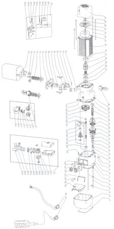 33938856 Wciągnik łańcuchowy elektryczny ELW 0,5 (udźwig: 0,5 T, wysokość podnoszenia: 3 m)