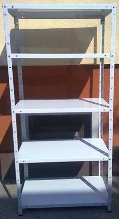 77156798 Regał metalowy, 6 półek (wymiary: 3000x900x600 mm, obciążenie półki: 150 kg)
