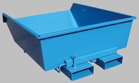 DOSTAWA GRATIS! 35960471 Niski kontener samowyładowczy do wózka widłowego (pojemność: 900 L)