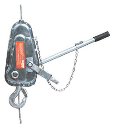 DOSTAWA GRATIS! 08126656 Wciągarka linowa, rukcug (udźwig: 500 kg)