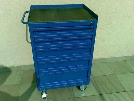 DOSTAWA GRATIS! 77157347 Wózek narzędziowy, 4 szuflady (wymiary: 1100x800x700 mm)