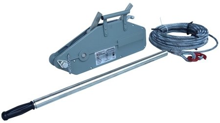 DOSTAWA GRATIS! 44366788 Wciągarka linowa uniwersalna, rukcug (udźwig: 800 kg, długość liny: 20m)