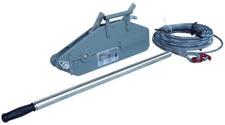 DOSTAWA GRATIS! 44366789 Wciągarka linowa uniwersalna, rukcug (udźwig: 1600 kg, długość liny: 20m)