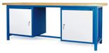 00853652 Stół warsztatowy, 2 drzwi (wymiary: 2100x900x740 mm)