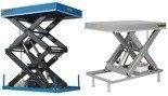 01843674 Podnośnik, podest nożycowy ESS-40/160-3C (udźwig: 4000 kg, wymiary platformy: 2200x1200 mm, wysokość podnoszenia min/max: 350-1950 mm, moc: 2,3kW)