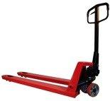 03068932 Wózek paletowy ręczny, koła poliuretanowe (udźwig: 2000 kg, długość wideł: 2000mm)