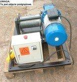 28863935 Elektryczna wciągarka linowa (siła uciągu: 640/475  kg, długość liny: 160m, moc: 2,2kW)