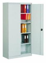 99551685 Szafa biurowa 0,8mm, 2 drzwi, 4 półki (wymiary: 1990x1000x435 mm)