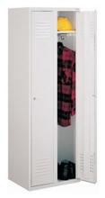 99552139 Szafka ubraniowa 0,6mm, zamek ryglujący drzwi w 3 punktach, 2 drzwi (wymiary: 1800x800x490 mm)