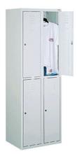 99552264 Szafka ze schowkami 0,8-1,0mm, 4 drzwi (wymiary: 1800x600x490 mm)
