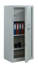 99552599 Szafa - wzmocniona, 2 półki, 1 drzwi, 1 skarbczyk (wymiary: 1500x700x500 mm)