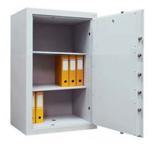 99552670 Sejf gabinetowy dwupłaszczowy I klasy, 2 półki, 1 drzwi (wymiary: 1200x700x520 mm)