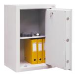 99552675 Sejf gabinetowy dwupłaszczowy II klasy, 1 półka, 1 drzwi (wymiary: 800x600x520 mm)