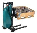 99724829 Wózek paletowy podnośnikowy elektryczny z przechyłem GermanTech (max wysokość: 900 mm, udźwig: 800 kg, długość wideł: 1140 mm)