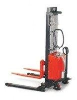 DOSTAWA GRATIS! 00568962 Wózek podnośnikowy półelektryczny (udźwig: 1000 kg, min./max. wysokość wideł: 70/1600 mm)