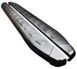 DOSTAWA GRATIS! 01655939 Stopnie boczne, czarne - Mercedes Vito W639 2004-2014 short/middle (długość: 238 cm)