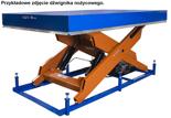 DOSTAWA GRATIS! 03060639 Dźwignik nożycowy przeładunkowy (udźwig: 2000 kg, wymiary platformy: 2500x2000mm, wysokość podnoszenia min/max: 302-2002 mm)