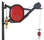 DOSTAWA GRATIS! 08115185 Wciągarka elektryczna linowa budowlana (udźwig: 325 kg)