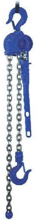 DOSTAWA GRATIS! 22021318 Wciągnik dźwigniowy z łańcuchem ogniwowym RZC/0.8t (wysokość podnoszenia: 3m, udźwig: 0,8 T)