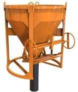 DOSTAWA GRATIS! 25264098 Pojemnik do betonu z wylewem prostym + fartuch 2m (pojemność: 0,50 m3)