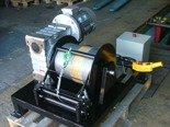 DOSTAWA GRATIS! 28870718 Elektryczna wciągarka z liną o średnicy 10mm (długość liny: 50m, siła uciągu: 1650/1900 kg, moc: 5,5kW 400V)