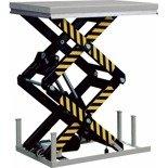 DOSTAWA GRATIS! 31070598 Hydrauliczny nożycowy stacjonarny stół podnośny (udźwig: 4000 kg, wymiary stołu: 1700x1200 mm, wysokość podnoszenia min/max: 400-2050 mm)