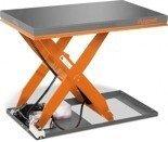 DOSTAWA GRATIS! 32240150 Hydrauliczny nożycowy stół podnośny Unicraft (udźwig: 1000 kg, wymiary: 1300x800 mm, podnoszenie min/max: 190/1010 mm)