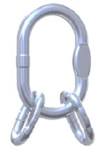 DOSTAWA GRATIS! 33954994 Ogniwo zbiorcze nierdzewne klasy 5 VAWI 16 (udźwig: 10,5 T)