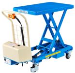DOSTAWA GRATIS! 39955547 Wózek platformowy nożycowy elektryczny (wymiary: 815x500mm, udźwig: 300 kg)